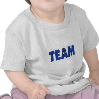 I (ojo) en equipo camisetas