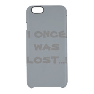 I Once Was Lost...! Phone Case