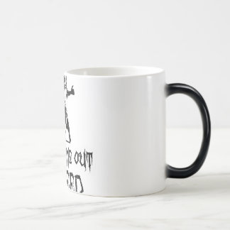 I Only Come Out To Feed Zombie 11 Oz Magic Heat Color-Changing Coffee Mug