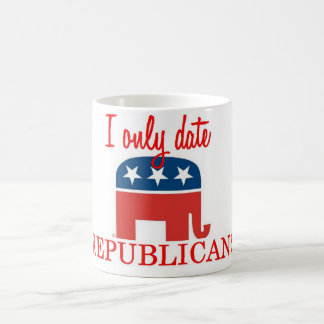 I Only Date Republicans Coffee Cup