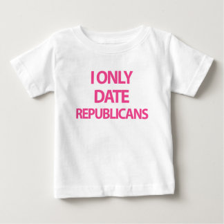 I only date republicans t-shirts