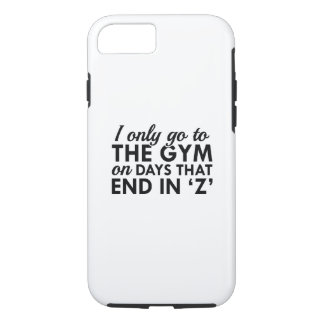 I Only Go To The Gym iPhone 8/7 Case
