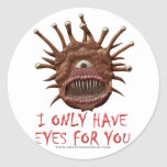 I Only Have Eyes For You Classic Round Sticker
