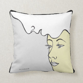 I ONLY HAVE EYES FOR YOU pillow by CR SINCLAIR
