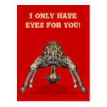 I Only Have Eyes For You Postcard