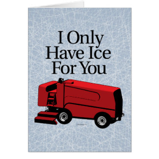 I Only Have Ice For You Card