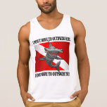 """""""I Only Have To Outswim You!"""" Tank Top"""