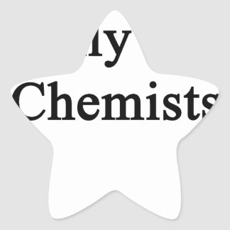I Only Kiss Chemists Star Sticker