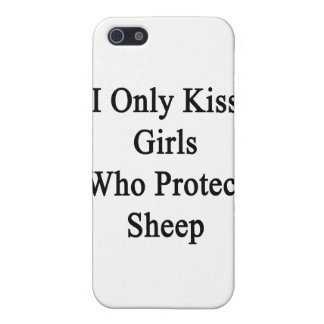 I Only Kiss Girls Who Protect Sheep Case For iPhone SE/5/5s