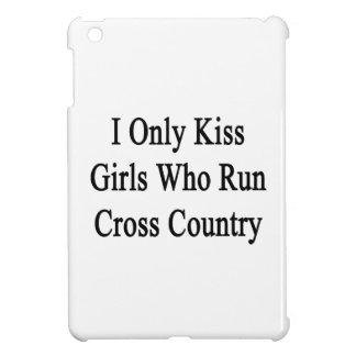 I Only Kiss Girls Who Run Cross Country iPad Mini Covers