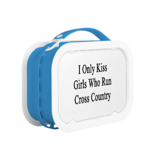 I Only Kiss Girls Who Run Cross Country Lunch Box
