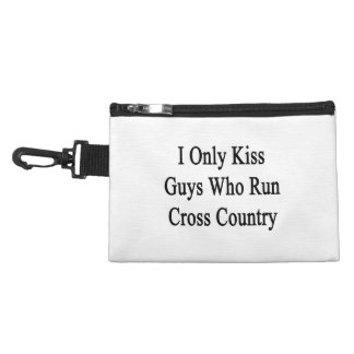 I Only Kiss Guys Who Run Cross Country Accessory Bag