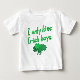 I Only Kiss Irish Boys Baby T-Shirt