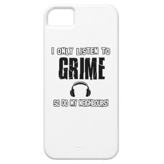 I only listen to GRIME iPhone SE/5/5s Case