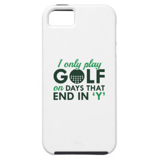 I Only Play Golf iPhone SE/5/5s Case