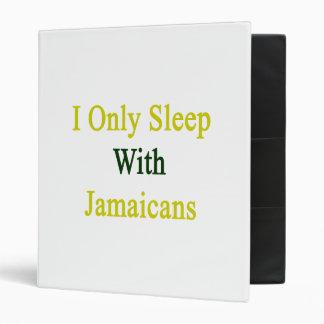 I Only Sleep With Jamaicans Vinyl Binders