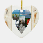 I ornamento del St. Maarten del corazón Ornamentos De Navidad