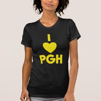 I oro de n del negro del corazón PGH ' Playera