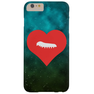 I orugas del corazón funda para iPhone 6 plus barely there