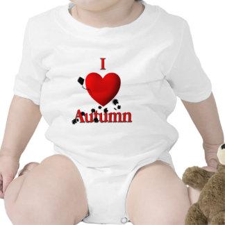 I otoño del corazón traje de bebé