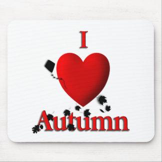 I otoño del corazón tapete de raton