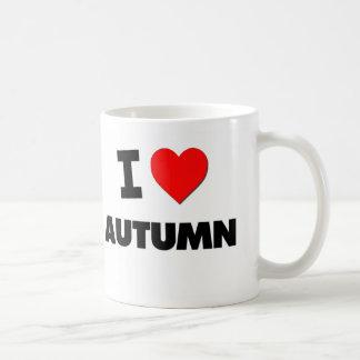 I otoño del corazón tazas