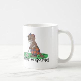 I Otter Be Golfing Coffee Mug