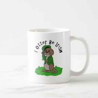 I Otter Be Irish Mugs