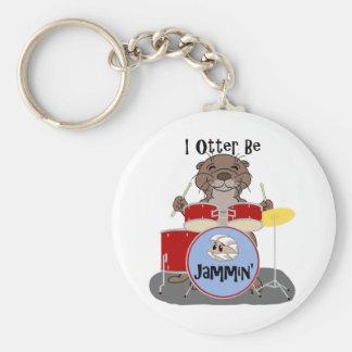 I Otter Be Jammin' Key Chains