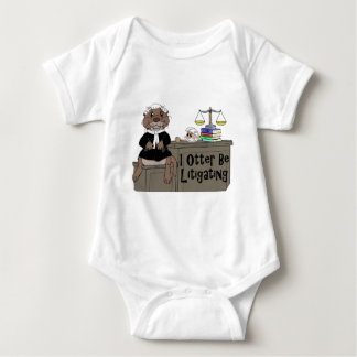 I Otter Be Litigating Baby Bodysuit