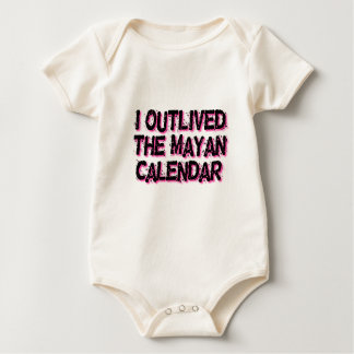 I Outlived The Mayan Calendar Baby Bodysuit