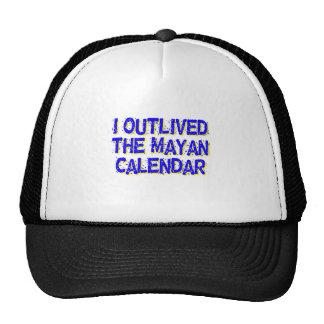 I Outlived The Mayan Calendar Trucker Hat
