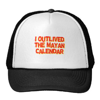 I Outlived The Mayan Calendar Mesh Hat