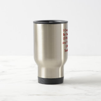 I Over Come By The Blood Of The LambAnd The Wor... Travel Mug