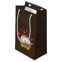 I Owl You Illustration Small Gift Bag