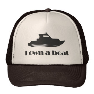 I Own a Boat Hats