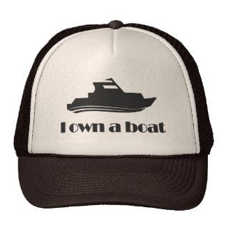 I Own a Boat Trucker Hat