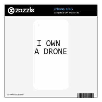 I own a Drone iPhone 4 Skins