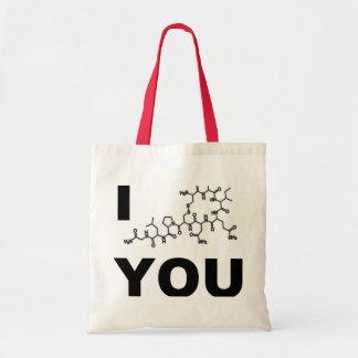 I (oxitocina) que usted empaqueta bolsa