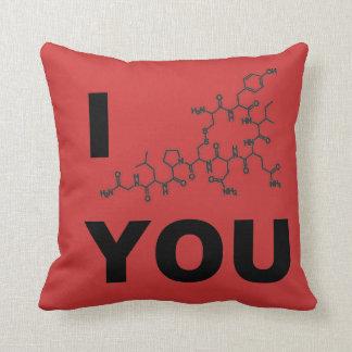 I (Oxytocin) You Throw Pillow