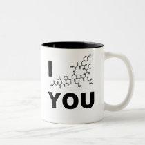 I (Oxytocin) You Two-Tone Coffee Mug
