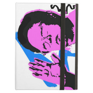 i pad air case with print of Kim Jong Il