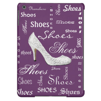 I Pad Air Protective Case! I Love Shoes! Add Name iPad Air Case