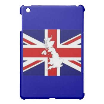 I Pad Case Britain Flag Red White And Blue Ipad Mini Case by creativeconceptss at Zazzle