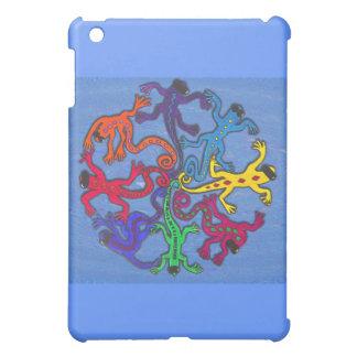 i pad case - Circle of Lizards iPad Mini Case