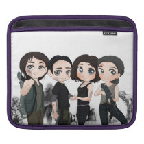 i pad case.featuring a zombie inspired anime theme iPad sleeve