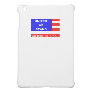 I Pad Case - United We Stand Cover For The iPad Mini