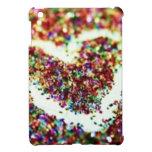 I pad mini case heart glitter iPad mini covers
