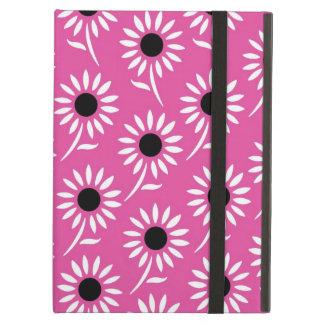 i Pad Pink Black White Pattern iPad Covers