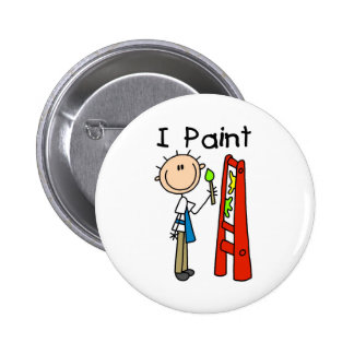 I Paint Pinback Buttons